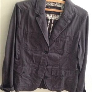 Eddie Bauer Legendwash three button jacket.